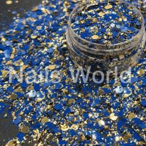 Микс  бриллиант баночка 2.5г 041
