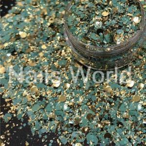 Микс  бриллиант баночка 2.5г 042