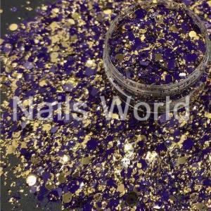 Микс  бриллиант баночка 2.5г 044