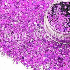 Микс бриллиант Nails World 015