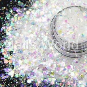 Микс бриллиант Nails World 004