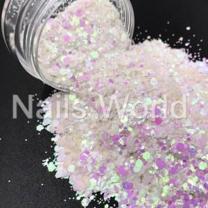 Микс бриллиант Nails World 007