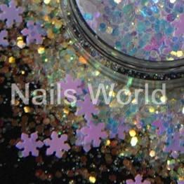 Микс Рождественский Nails World №001