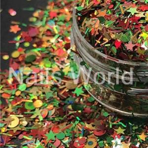 Микс Рождественский Nails World №011