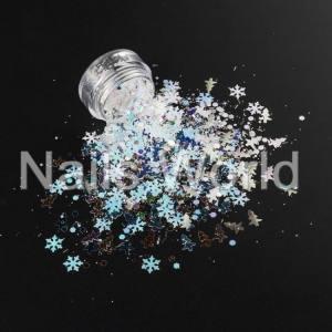 Микс Рождественский Nails World №003