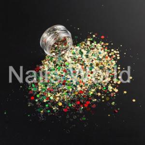 Микс Рождественский Nails World №006