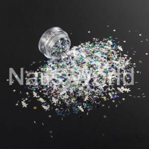 Микс Рождественский Nails World №007
