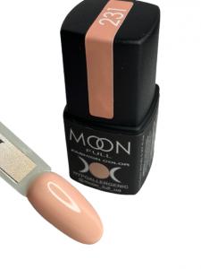 Гель-лак MOON FULL color Gel polish №231 бежево-розовый