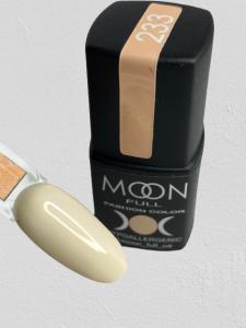 Гель-лак MOON FULL color Gel polish №233 желто-молочный