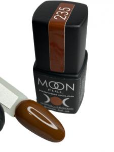 Гель-лак MOON FULL color Gel polish №235 шоколадный