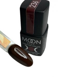 Гель-лак MOON FULL color Gel polish №236 вишнево-шоколадный