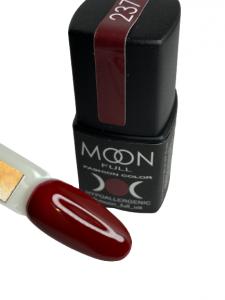Гель-лак MOON FULL color Gel polish №237 спелая вишня