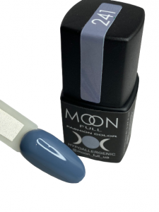 Гель-лак MOON FULL color Gel polish №241 серо-синий
