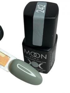 Гель-лак MOON FULL color Gel polish №242 серый