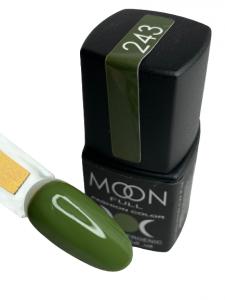 Гель-лак MOON FULL color Gel polish №243 хаки
