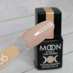 Гель-лак Moon Full Air Nude 06 8мл