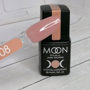 Гель-лак Moon Full Air Nude 08 8мл