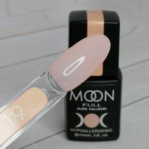 Гель-лак Moon Full Air Nude 19 8мл
