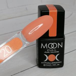 Гель-лак Moon Full Air Nude 20 8мл