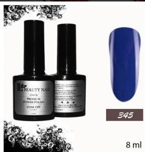 Гель-лак Premium 345 Насыщенно-синий (8ml)
