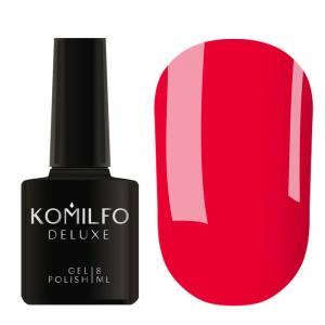 Гель-лак Komilfo DeLuxe Series Neon N001 (насыщенный, ярко-розовый, неоновый), 8 мл