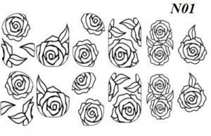 Слайдер-трафарет Sweet Bloom N01