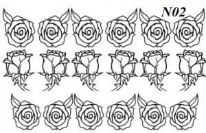 Слайдер-трафарет Sweet Bloom N02