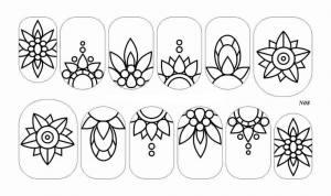 Слайдер-трафарет Sweet Bloom N08