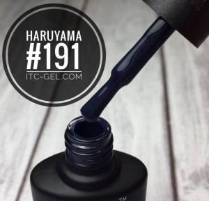 Гель-лак Haruyama Классика №191, темный серо-синий, 8 мл