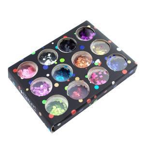 Набор декора для ногтей Starlet Professional квадраты 12шт