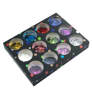 Набор декора для ногтей Starlet Professional, фигурки сердца, 12 шт.
