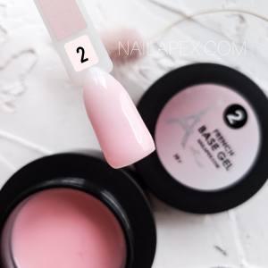 База камуфлирующая Nailapex FRENCH Base №2 беловато-розовая 30мл