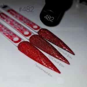 Светоотражающий гель-лак Nail Apex №482