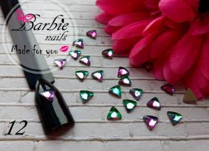 Стразы фигурные стекло BarbieNails 1шт №12