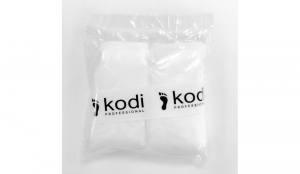 Одноразовые носочки для педикюра Kodi с кремовой эмульсией, 40г