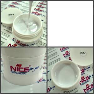 Гель Nice for you белый GS-1