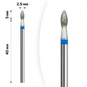 Алмазная насадка Mart М- 009  Олива Blue 2,3*5