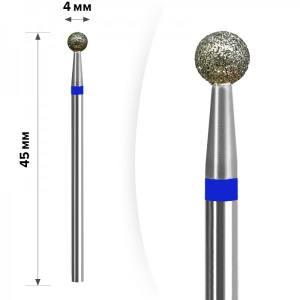Алмазная насадка mART М- 031 Шарик Blue 4мм