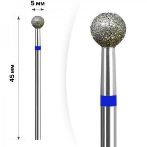 Алмазная насадка mART М- 033  Шарик Blue 5мм