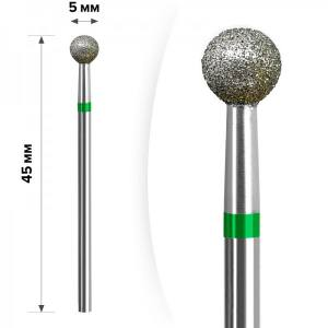 Алмазная насадка mART М- 034 Шарик Green 5мм