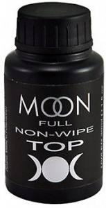 Топ-покрытие с УФ-фильтром без липкого слоя Top Non-Wipe MOON FULL, 30 мл
