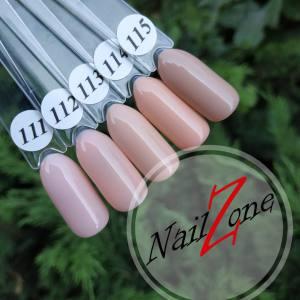 Гель-лак Barbie Nails 7мл  Колекция Nude (111-115)