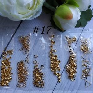 Металлический декор для ногтей в упаковке Barbie Nails №17