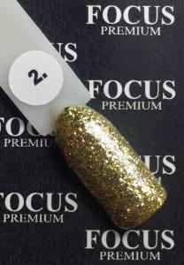 Гель лак Focus Titan Premium, 8 мл №2