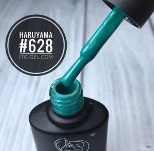 Гель-лак Haruyama Классика №628, темно-изумрудный,  8 мл