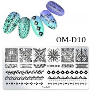 Пластина для стемпинга OM-D010