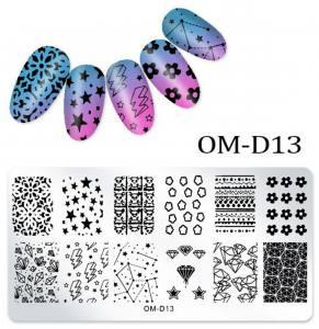 Пластина для стемпинга OM-D013
