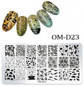 Пластина для стемпинга OM-D023