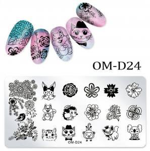 Пластина для стемпинга OM-D024