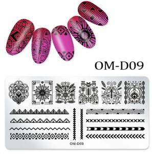 Пластина для стемпинга OM-D09